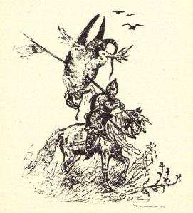 Calandra y el demonio: la leyenda de la bella Alda