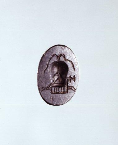Amuleto uterino, Museo Británico (Londres)