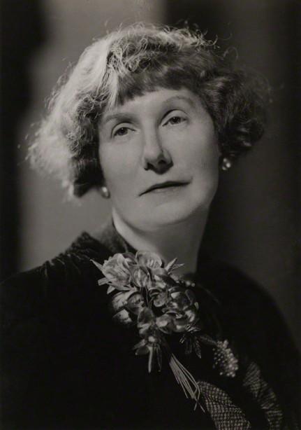 NPG x3428; Marjorie Bowen (Mrs Gabrielle Margaret Vere Long) by Howard Coster