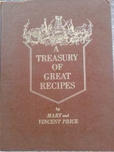 Tesoros de EnLaListaNegra I: Vincent y Mary Price, Tesoro de grandes recetas