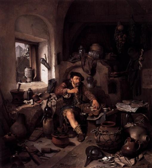 Cornelis_Pietersz_Bega_Alchemist