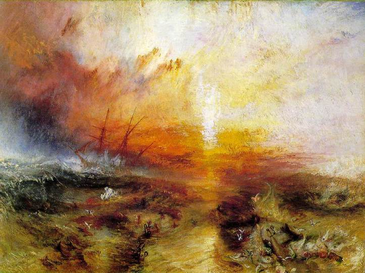 Turner - Slavers throwing overboard the Dead and Dying - 1840