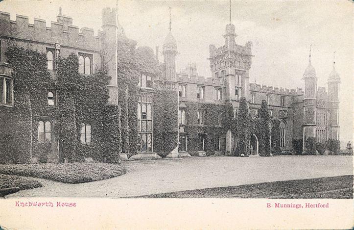 Secret chambers - Knebworth House
