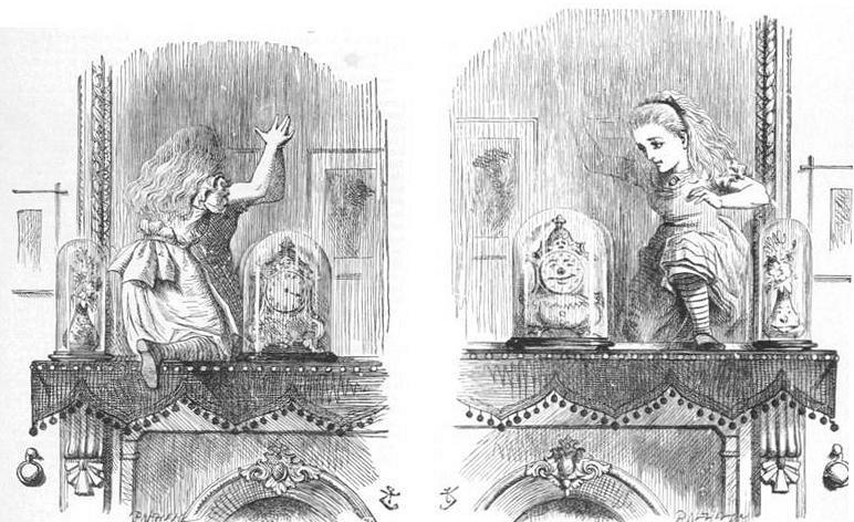 Lewis Carroll Alicia a través del espejo - espejos literatura fantástica