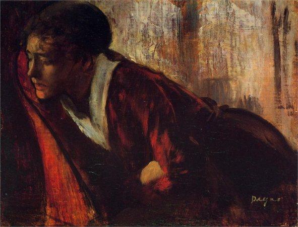 Degas Melancolia