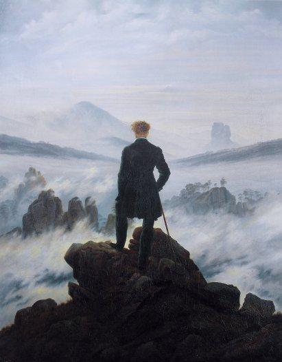 Friedrich Caminante sobre mar de nubes