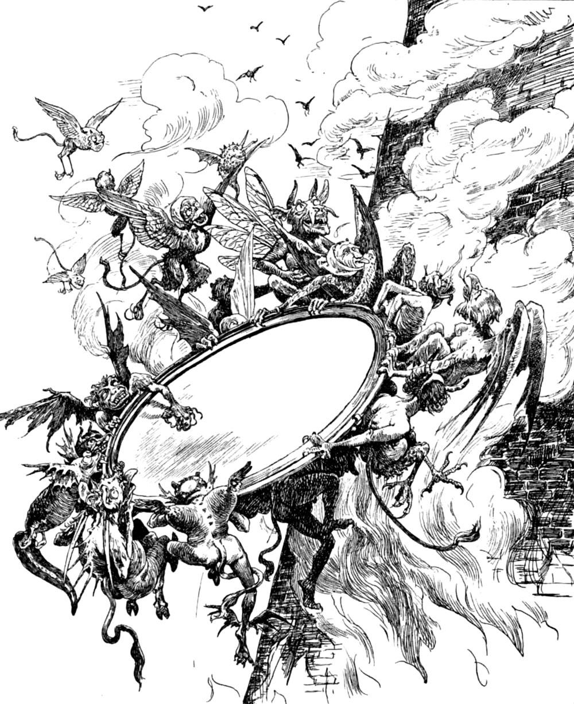 Andersen, La reina de las nieves - espejos literatura fantástica