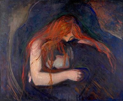 Munch La mujer vampiro