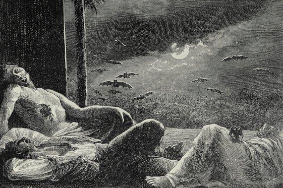 Vampiros en la noche Mejores relatos de vampiros