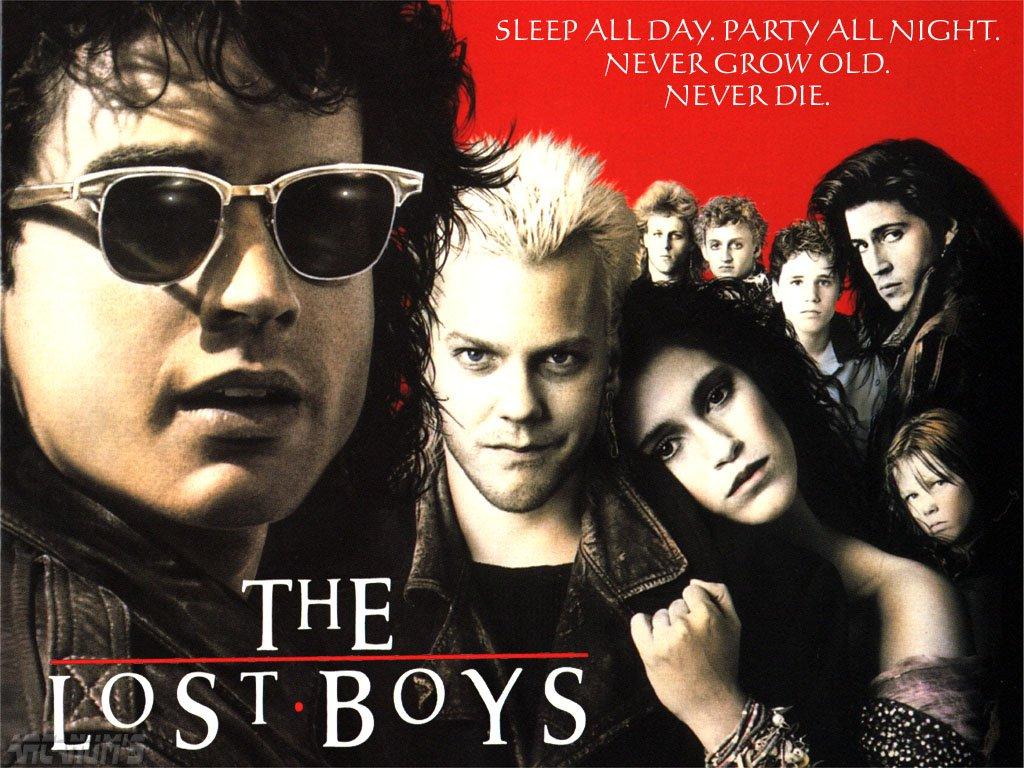 Lost boys película vampiros