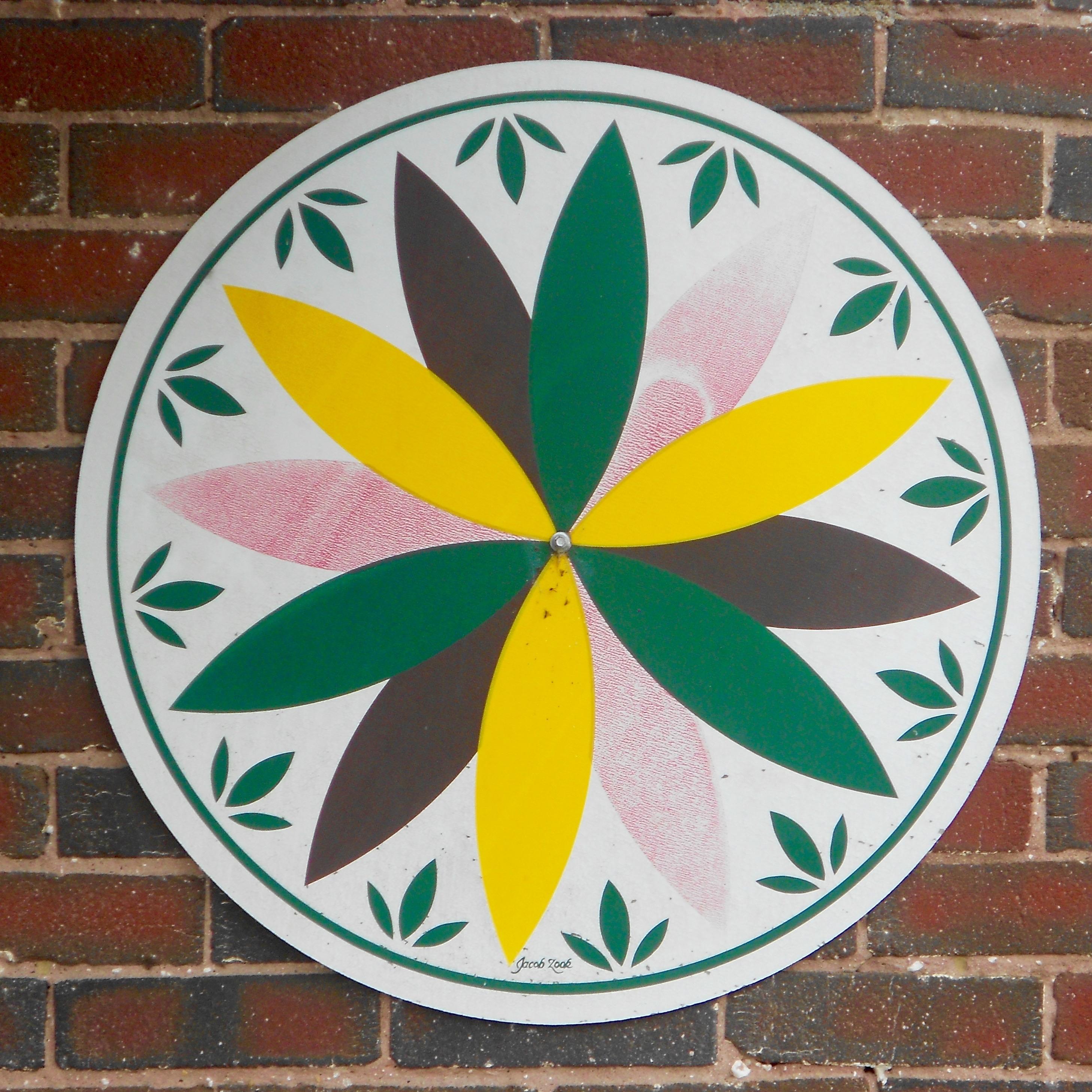 Hex sign, powwow, braucherei, Pensilvania