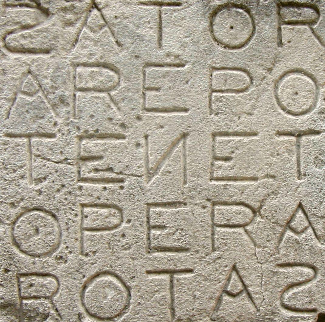 Palíndromo, magia, esoterismo